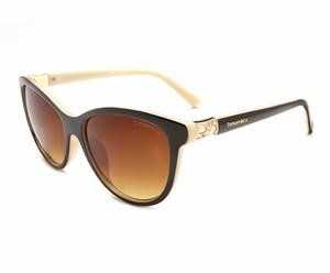 2020 Hochwertige neue Sonnenbrille Tco 2606 ultraleichte Art und Weise Frauen klassische wilder Spiegel eyewear Sonnenbrille Verschiffen