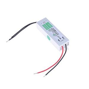 50шт AC110V-220V к DC24V блок питания 10 Вт IP67 водонепроницаемый 24 в светодиодный трансформатор электронный драйвер из алюминиевого сплава