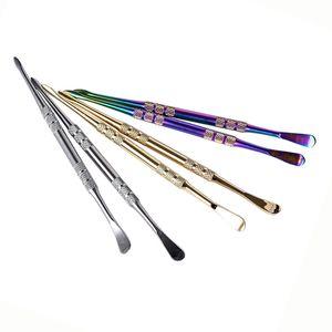 고품질 Vape 도구 선택 도구 티타늄 DAB 도구 왁스 오일 드라이 허브 기화기 Vapor Pen Kit 다채로운 DHL 배송 무료