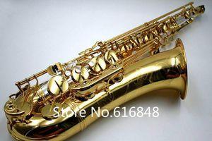 العلامة التجارية تينور ساكسفون YANAGISAWA 9930 Bb لهجة الذهب والفضة مطلي النحاس ساكس مع حالة المعبرة للطلاب