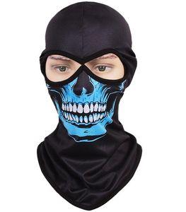 Skull Masks Breathable Tactical Headgear Soft Bandanas CS Mask Outdoor Sports Cap Bicycle Cycling Fishing Motorcycle Masks Full Face Mask