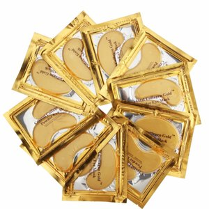 Gold Crystal Collagen Sleeping Eye Mask Hotsale Eye Patches 100pcs=50 pack Fine Lines Face Care Skin Care