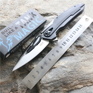 ZT0999 cuchillo plegable Zero Tolerance 0999 cuchillo de acampada de alta calidad ZT0999CF balll bearing G10 mango aleta de caza cuchillos de pesca