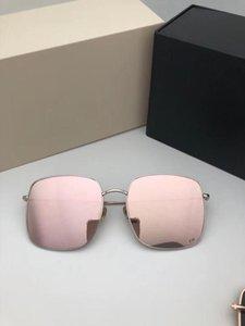 2018 Nouvelles lunettes de soleil de pilote classiques Vintage Lunettes de soleil rondes à la mode Lunettes de soleil polarisées Lunettes de soleil Hipster avec boîte STELLAIRE 1
