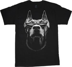 Gran Hombre Camisa Doberman Pinscher Plus Size Tall Tee 2x 3x 4x 5x 6x 7x 10x Camisetas Casual Brand Clothing Camisas de algodón