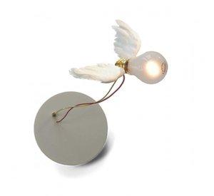 Современные White Angel Wings Потолочные светильники стол светодиодные лампы Бра Спальня Home Art Decor Home Lighting WA059