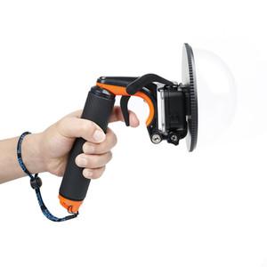 Unterwassertauchobjektiv-Haube-Wölbungs-Verschluss-Stabilisator-Trigger-sich hin- und herbewegender Hand Selfie-Stock für frei versendenden Art und Weise der Held-5/6 Art und Weise