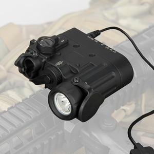 Hot Sale Hunting Flashlight DBAL-D2 Dual Beam Aiming Laser Red w IR LED Illuminator Class 1 Hunting Light CL15-0088