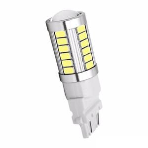 T25 3157 P27 / 7W 33 SMD 5630 5730 LED 자동차 테일 라이트 33SMD 모터 주간 주행 등 표시 등 신호 백색 / 적색 / 황색