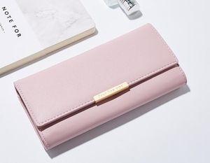 Hot wholesale 2017 famous brand fashion single zipper cheap luxury designer women pu leather wallet lady ladies long purse
