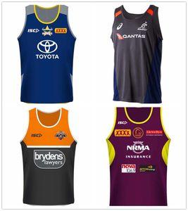 jerseys colete Cowboys Tigres Brisbane Mustangs Fiji Nova Zelândia time de futebol jersey NRL National League jersey NRL Singlet shi