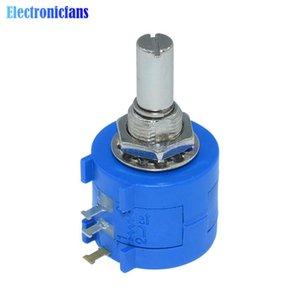 Envío gratis 3590S-2-103L 3590S 10K precisión multivuelta potenciómetro 10 anillo resistor ajustable