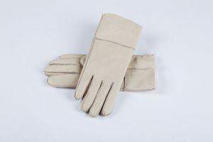 Frete Grátis - Clássico de qualidade de couro brilhante senhoras luvas de couro luvas de lã das mulheres 100% de garantia de qualidade