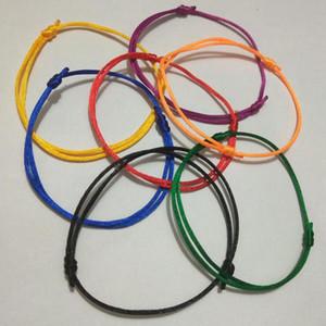 Schnelles Verschiffen 14pcs / lot KABBALAH HAND machte Mehrfarbenschnur-Armband-Schmucksachen Kabala-Glücksarmband-Schutz der Liebe A3
