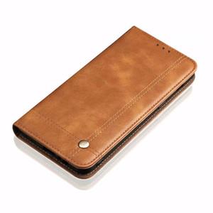 Flip de couro de luxo único ímã design stand case para huawei mate 20 pro / mate 20 carteira casos de proteção tampa traseira