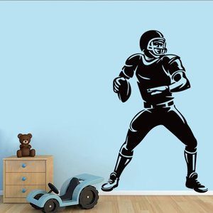 Self-adesive Removable Wall Vinyl Wall Stickers Murals Art Decals Decorator Kid's Favor Sports Football Soccer Free Shipping