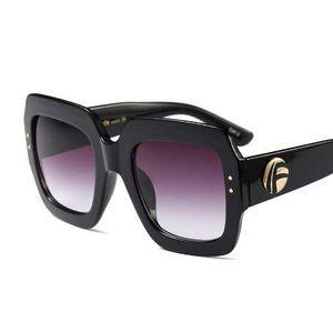 HBK новые солнцезащитные очки-Женщины площадь негабаритных солнцезащитные очки женщины мода солнцезащитные очки Леди бренд дизайнер старинные оттенки Gafas Oculos