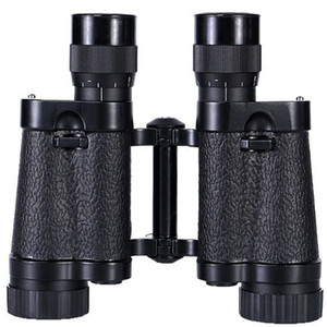 8*30 Telescope HD Binoculars Night Vision Handheld Portable Wide Angle Coordinate Ranging Shockproof Leather Skin Binoculars EMS