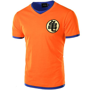 Europe Taille Dragon Ball T-shirt des hommes d'été Dragon Ball Hommes Slim Fit cosplay 3D T-shirts occasionnels coton T-shirt Homme Chine de bande dessinée Japon