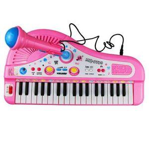 37 tasti Electone mini tastiera elettronica giocattolo musicale per bambini giocattoli educativi con microfono per pianoforte bambino giocattoli per bambini regali di compleanno