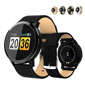 Q8 Smart Watch Smart Fashion Electronics Мужчины Женщины Водонепроницаемый Спорт Трекер Фитнес Браслет Smartwatch Носимого Устройства