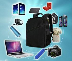 Уличная фотография SLR DSLR Camera Backpack Прочная водонепроницаемая сумка для фотокамеры 600D Нейлоновый материал Три цвета.
