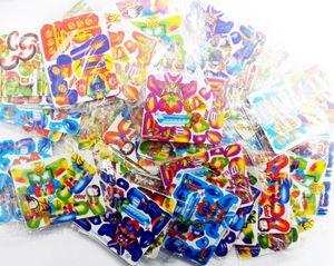 48pc MINI PUZZLE 3D Karte Geburtstag PARTY Gefälligkeiten Spielzeug Assemble Figur assorted zufällige Design Pinata Tasche Filler Beute Gag Schule