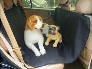 Oxford Kumaş Paw desen Pet Araba Koltuğu Köpek araba Gövde Mat için Suv Seyahat Aksesuarları araba Mat Evcil Köpekler için