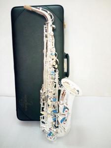 YANAGISAWA alta calidad Japón Alto Yanagisawa W-037 Eb saxofón alto plateado rendimiento profesional instrumento musical