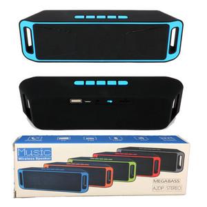 SC208 Bluetooth Speaker Спорт на открытом воздухе Портативный беспроводной динамик Поддержка громкой связи TF и USB FM-радио