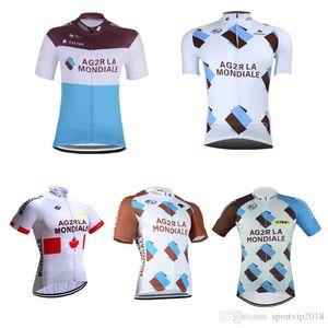 2018 AG2R ciclismo manica corta maglia abbigliamento bici bicicletta uomo estate ciclismo ropa hombre maillot abbigliamento sportivo abbigliamento 32813