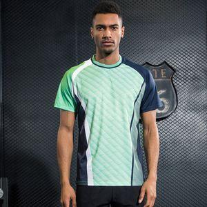 Men's Sports Tennis Shirt Breathable Athletic Dry T-Shirts Tops Shirt Table Badminton Quick Men Tennis Clothing Totgb