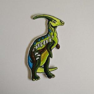 Parasaurolophus Dinosaur Patch Hierro en bordado Apliques Gestión de seguridad de seguridad describir Regalo camisa bolsa pantalones abrigo Chaleco Ropa