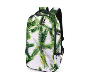 2018 Yeni Grafik Ağaçlar 3D Baskı Omuz Çantaları Seyahat Açık Spor Sırt Çantaları için Rahat Tasarımcı Marka 3D Okul Öğrenci Çantaları