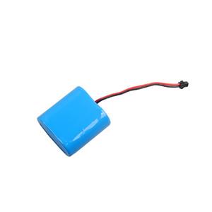li-ion pil 32650 6.4 V 5000 mAh 32650 lifepo4 pil ile PCB korumalı ve led ışık için teller