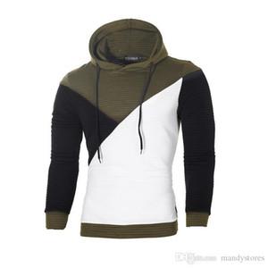 Hoodie Men Hoody Male Long Sleeve Solid Color Hooded Men's Sweatshirt Mens Hoodies Tracksuit Sweat Coat Casual moletom masculino