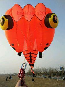 تفاصيل حول 8sqm soft kite 3D Huge Soft Giant Tadpole Kite Outdoor Sports من السهل الطيران