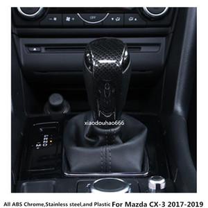 высокое качество для Mazda CX-3 CX3 2017 2018 2019 стайлинга автомобилей body Head блесток отделка ABS хром Gear обложка ручка переключения управления лампа рамка 1 шт.