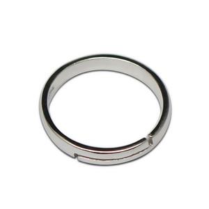 Beadsnice стерлингового серебра кольца для женщин уникальные серебряные кольца для штамповки персонализированные подарок пустые кольца ID 32270