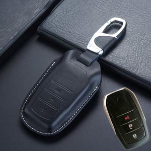 Keyless Entry intelligenti copertura chiave a distanza Toyota Fortuner 2018 Innova Kijang Land Cruiser LC200 4000 4600 5700 cassa chiave Holder Accessori