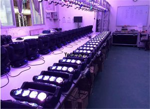 2 unidades 8x10w cabeza móvil luces blancas araña led color blanco led cabeza móvil luz de araña viga