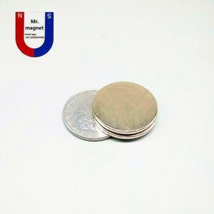 도매업 30pcs 매우 강한 25x3 자석 25 * 3 N35 영구 희토류 자석 25mm x 3mm 기업 네오디뮴 자석 D25x3mm