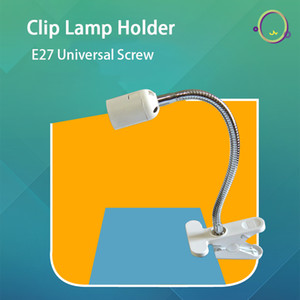 SANYI Bedside Lamp Holder Clip Lamp E27 Screw Base Socket High End Clip Lamp Bedroom Holder