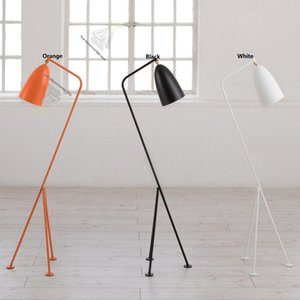 Modern Tripod Industrial Floor Lamp Stand Arm Simple Lamps Light Fixtures for Living Room Decoration Colorful Hotel Home Decor