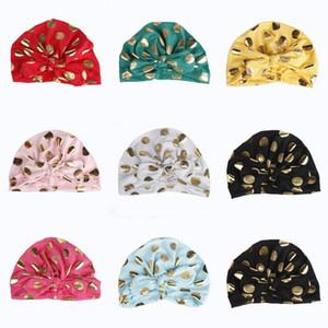 INS Baby Hat Bowknot Bunny Ears Niños Niños Niñas Otoño Invierno Punto Indian Hat Bohemia Gorras Turbante Apoyos de Fotografía
