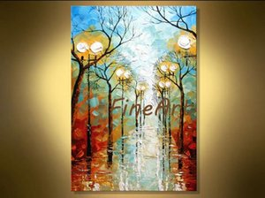 discount canvas modern art palette knife textured oil landscape painting on canvas wall art for living rooms discount wall painting ideas ho