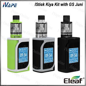 Eleaf iStick Kiya Starter Kit 50 Вт с распылителем GS Juni 2 мл. Усовершенствованная система воздушного потока. IStick Kiya Mod. Встроенный аккумулятор 1600 мАч. 100% оригинал.