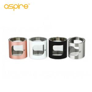100% original Aspire PockeX Pyrex Tube (con cubierta de metal) Tubo de vidrio de repuesto de 2ML para el kit de inicio de Aspire Pockex envío gratis