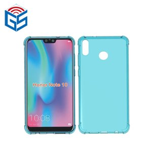 Für Huawei Honor V10 Ansicht 10 Hinweis 10 Crystal Clear Fall Antiklopf Edge Design Transparent TPU Zurück Abdeckung