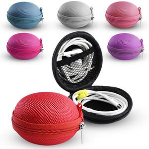 Reißverschlusstasche Kopfhörerkabel Mini-Box SD-Karte Tragbare Geldbörse Kopfhörertasche Tragetasche Tasche Hülle Aufbewahrung Bluetooth Headset
